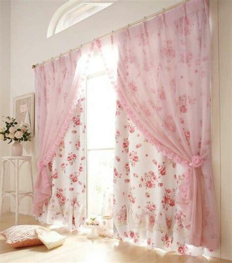 vorhang rosa altrosa vorh 228 nge m 246 belideen