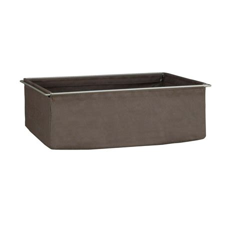 Homedepot Closetmaid Closetmaid Shelftrack 7 In H Canteen Fabric Drawer With