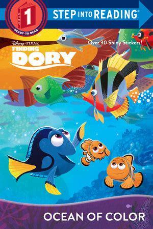 Disney Pixar Finding Dory Paint Palette Book step into reading of color disney pixar finding dory