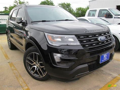 ford in black 2016 shadow black ford explorer sport 4wd 105017156 photo