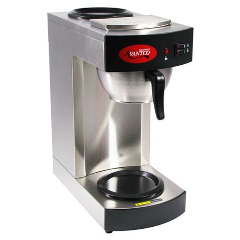 avantco c10 12 cup pourover commercial coffee maker with 2 warmers 120v to be the o jays and