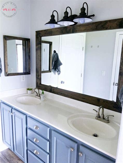 bathroom vanity mirrors ideas pinterest