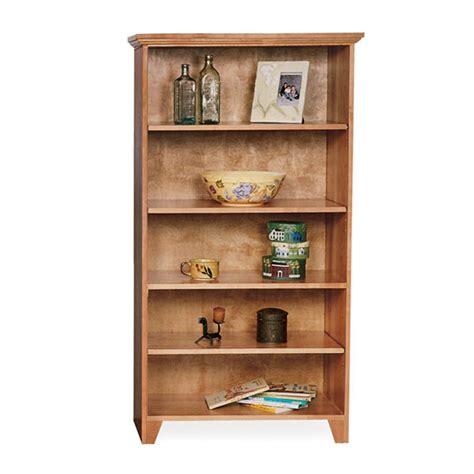 custom wood bookshelves custom shaker style open bookcases solid hardwood vermont made