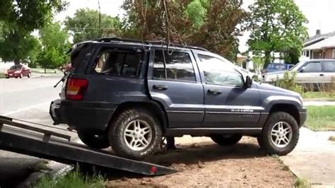 Wrecked Jeep Grand Cherokee Youtube