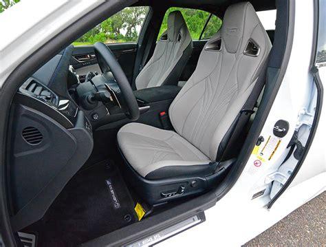 lexus gsf seats 2017 lexus gs f spin review test drive