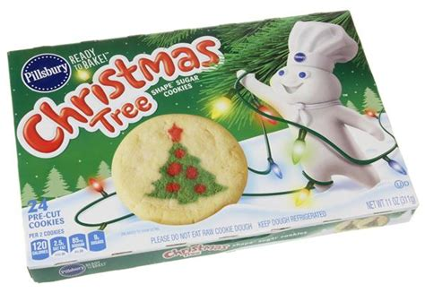 pillsbury ready to bake christmas tree shape sugar