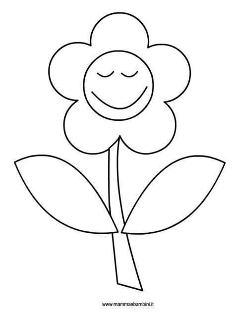 fiore disegno fiore da colorare mamma e bambini