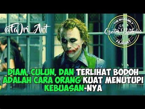 kata kata bijak  joker