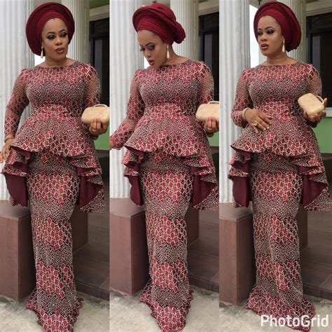 aso ebi lace styles latest lace styles 2017 for owambe guests to blast