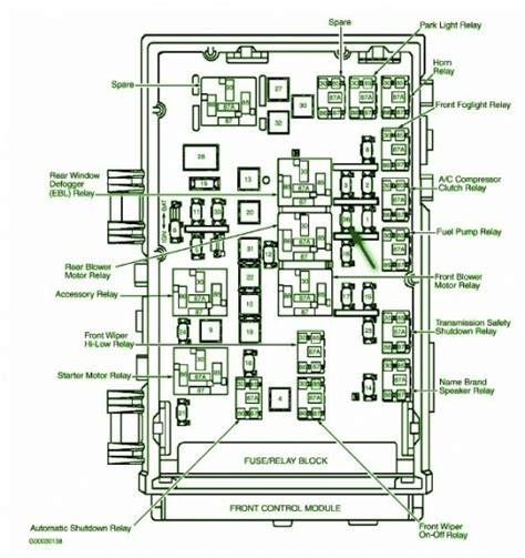 2000 dodge caravan fuse box diagram 2001 dodge caravan fuse box fuse box and wiring diagram