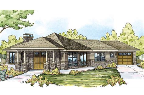 Prairie Style by Prairie Style House Plans Baltimore 10 554 Associated