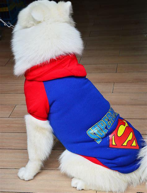 Pet Coat Jacket Winter Clothes Puppy Cat Sweater Coat Clothing App 1 warm pet cat puppy winter superman sweater coat clothes jacket xs 9xl ebay
