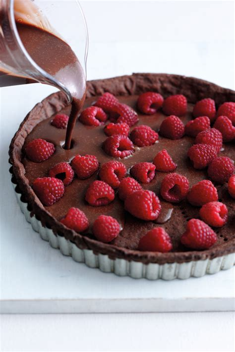 chocolate raspberry tart chocolate raspberry tart