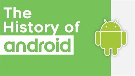 android history the history of android