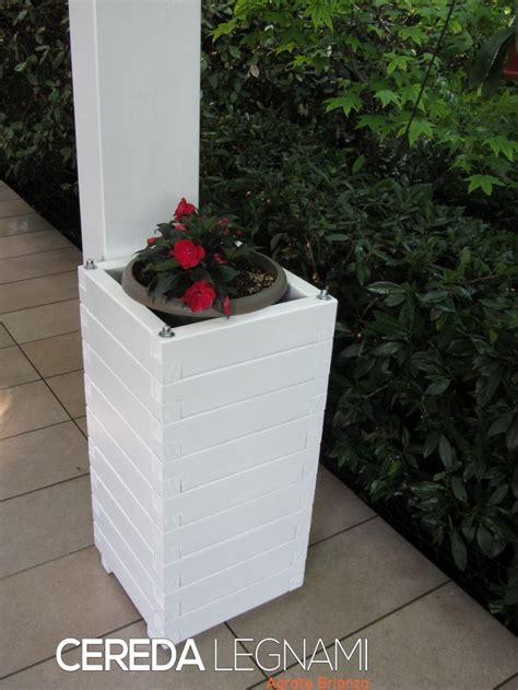 vasi in legno per esterno fioriere legno per esterno cereda legnami agrate brianza