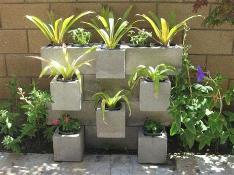 cinder block flower bed 8 best images about flower bed designs on pinterest