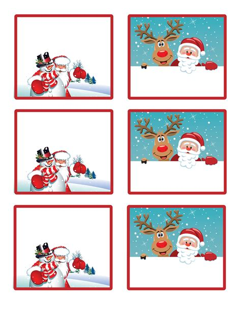 printable name tags for gifts easy free letter from santa magical package free