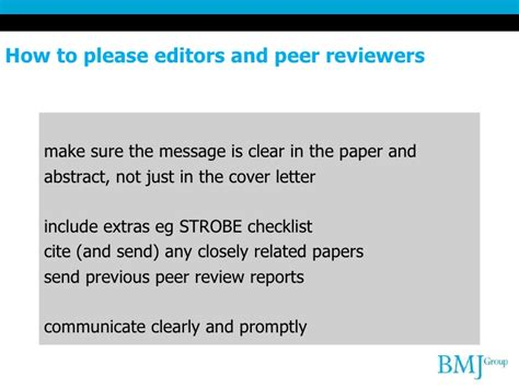 Bmj Research Letter How To Get Your Research Published In The Bmj