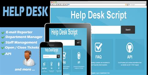 Help Desk Script Template by Ticket Support Script 187 Takcork Website Template