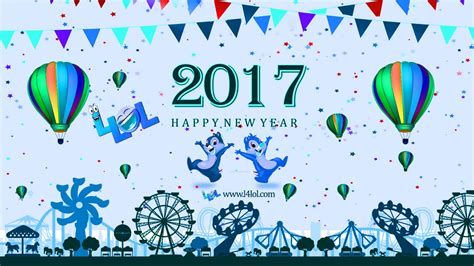 happy new year greetings card cliparts ecards 2017