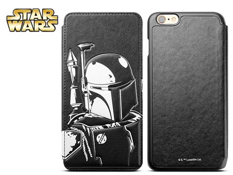 Iphone 6 6s Casing Cover Lucu Starwars Leather Bb 8 iphone 6 plus 6s plus wars boba fett leather flip