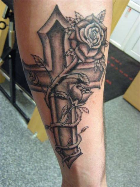 tattoo cross rose cross and rose tattoo designs cross heart rose ribbon