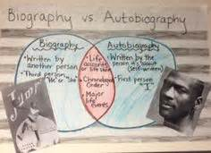biography and autobiography venn diagram expository writing students underline or highlight using