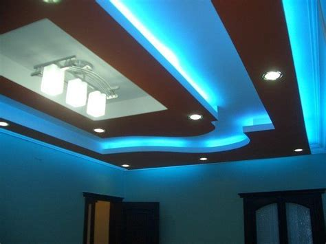 False Ceiling Led Lights Ideas About False Ceiling Designs Blue Led Lights Wooden Ceilings And Led