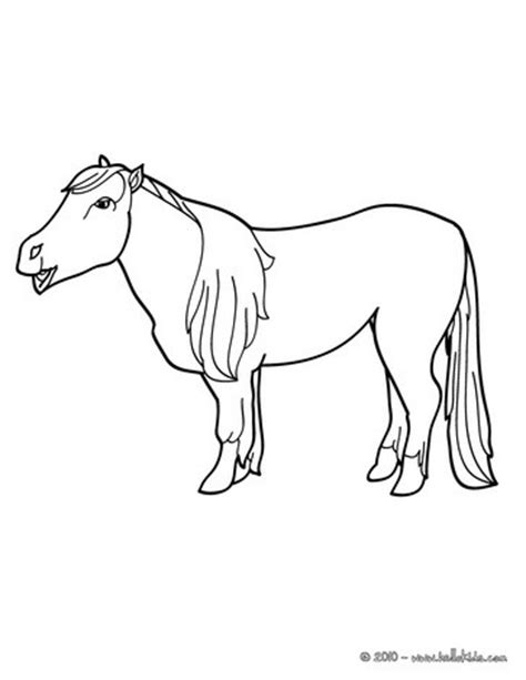 hello pony coloring pages pony coloring pages hellokids com