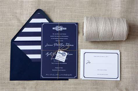Wedding Invitations Navy by Tie The Knot Navy White Wedding Invitations Onewed