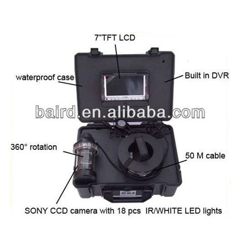 Underwater Fishing 50m 360 Degree View Kamera Underwater 100m underwater 360 degree sony ccd with built in