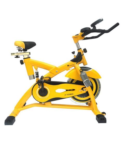 kobo fitness spin bike with pulse upright cardio