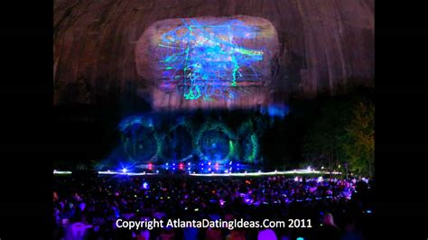 Stone Mountain Laser Light Show Youtube