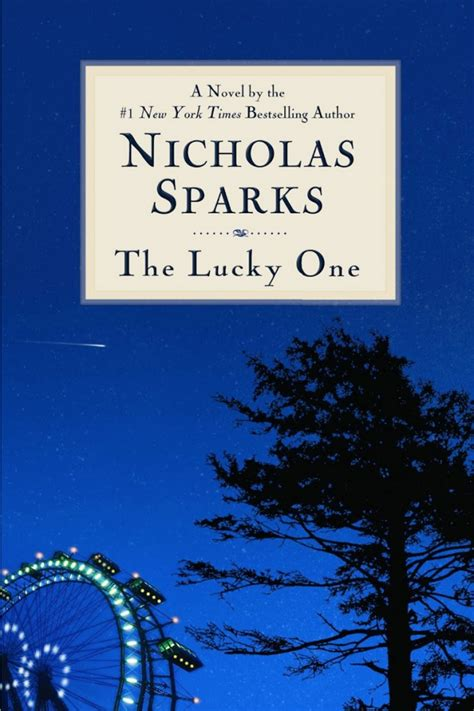 one books nicholas sparks the lucky one