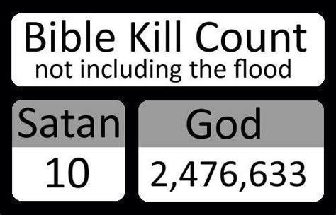 kill count jobsanger god vs satan