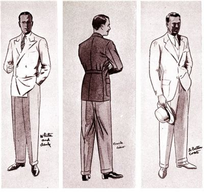 history of mens fashion mens style from the 1930s to 2008