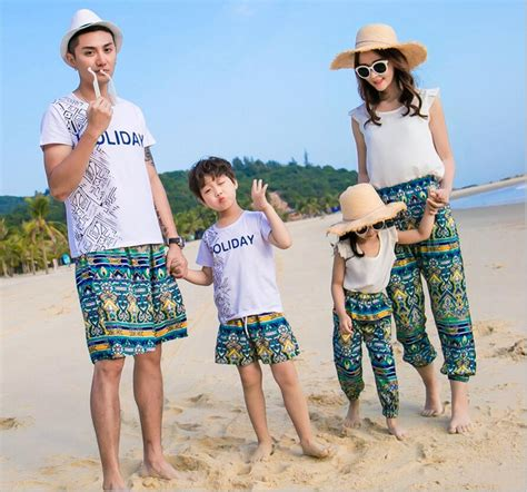 T Shirt Setelan aliexpress buy 2017 summer style family look and clothes white