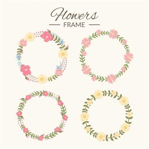 cornici floreali gratis collezione cornici floreali scaricare vettori gratis