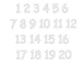 number templates 1 20 5 best images of printable tracing numbers 1 20