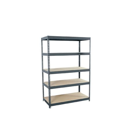 shop edsal 72 in h x 48 in w x 24 in d 5 tier steel