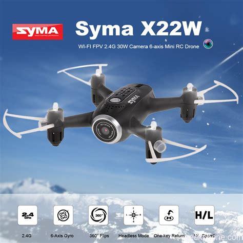 Drone Syma X22w Rc Quadcopter syma x22w 2 4g selfie drone wifi fpv rc quadcopter design