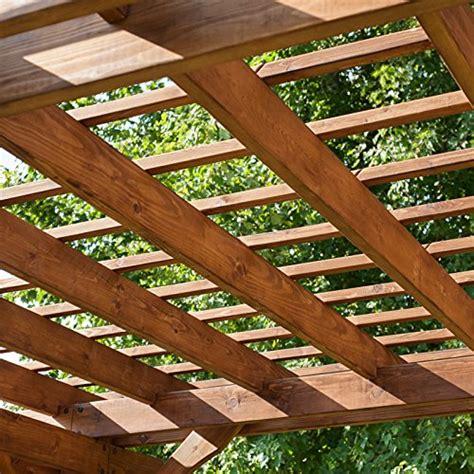backyard discovery cedar pergola farm garden superstore