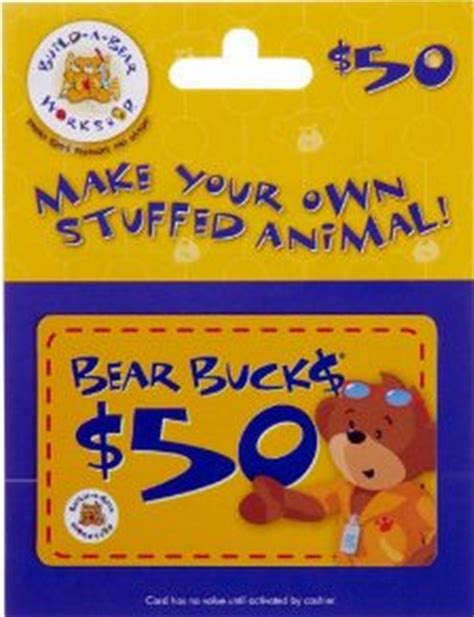 How Do You Pay With A Gift Card On Amazon - pay 40 for a 50 build a bear gift card bargains to bounty