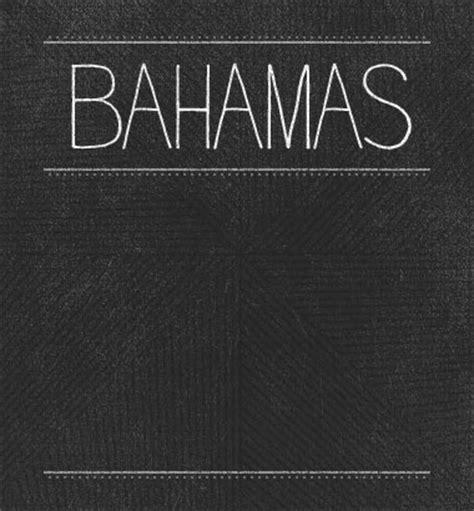 Bahamas Records Bahamas Brushfire Records