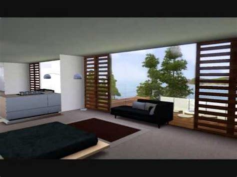 the sims 3 modern interior design youtube sims 3 modern house youtube