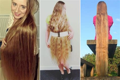 real like rapunzel has 64 inch hair she refuses to get cut real life rapunzel who gave up cutting hair can now wear