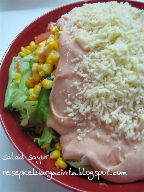cara membuat salad sayur jepang salad sayur lagi resep kue masakan dan minuman cara