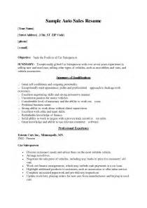 Automotive Sales Consultant Sle Resume by Sales Consultant Resume Sle Financial Advisor Resume Sle Image Result For Bridal