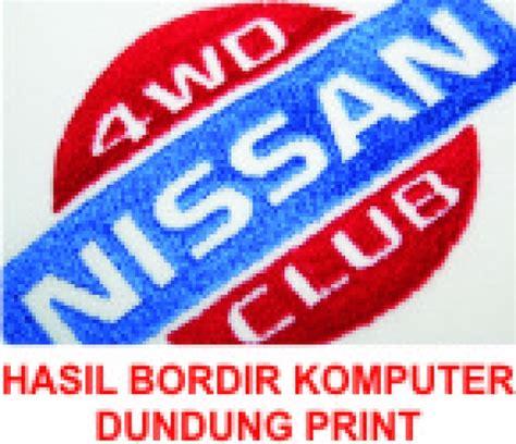 Jasa Bordir Logo percetakan no 1 makassar bordir komputer makassar