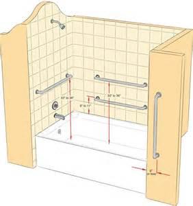 handicap grab bars for bathrooms best 25 grab bars ideas on ada bathroom